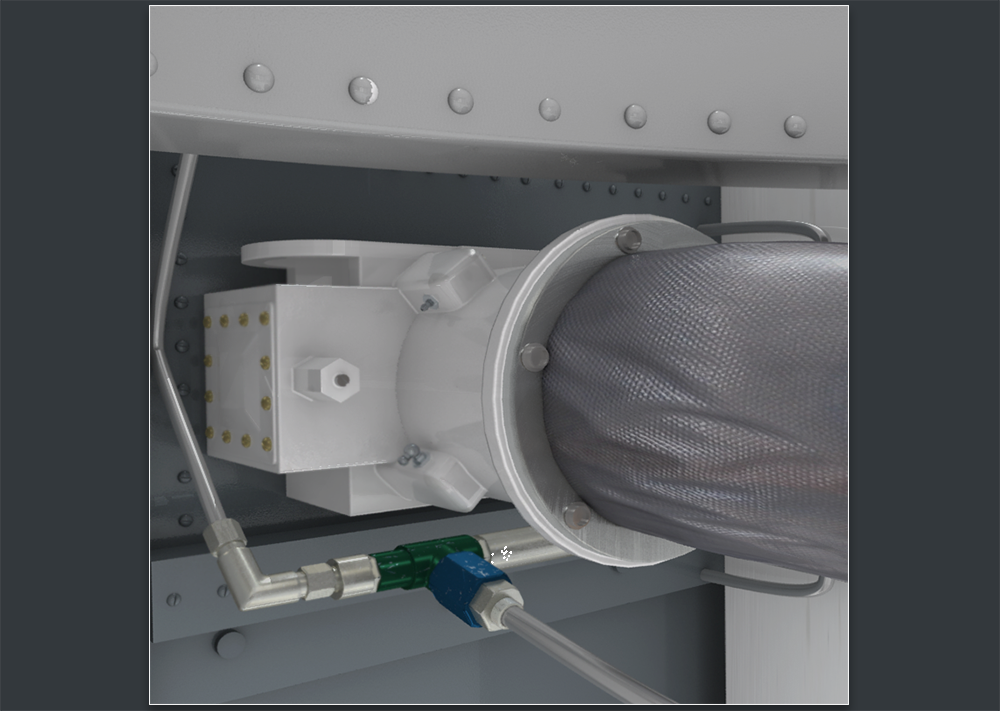 3D Model of a Ventilation Hose