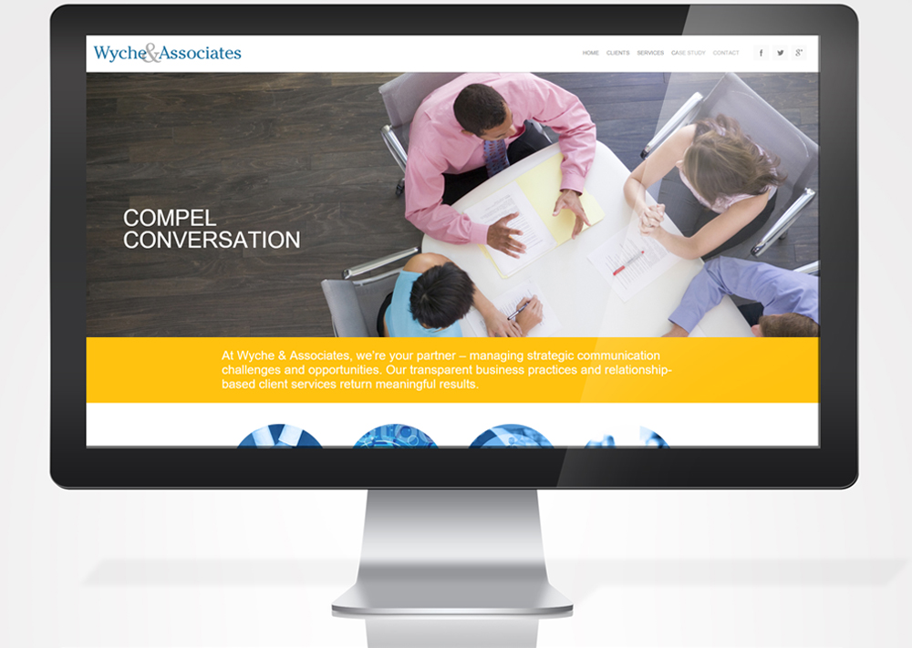 Web Development for Wyche & Associates